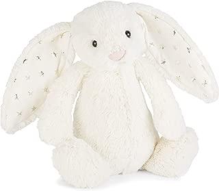Jellycat Bashful Twinkle Bunny Stuffed Animal, Multicolor, Medium/12