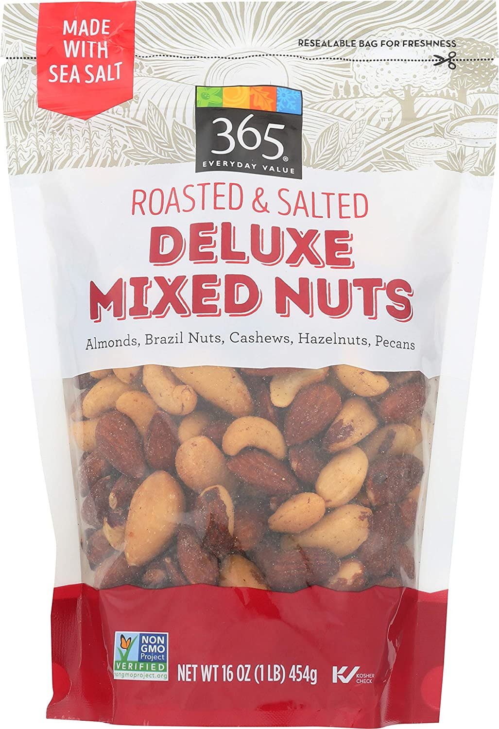 365 by Whole Foods Free shipping anywhere in the nation Market In a popularity Nuts Peanuts Deluxe Mixed Roasted No