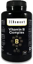 Complejo de Vitaminas B, 200 perlas   Contiene las ocho Vitaminas B (B1, B2, B3, B5, B6, B12, Biotina y Ácido Fólico) + Vit. C y E   Para mejorar la energía, el estado de ánimo y la salud general