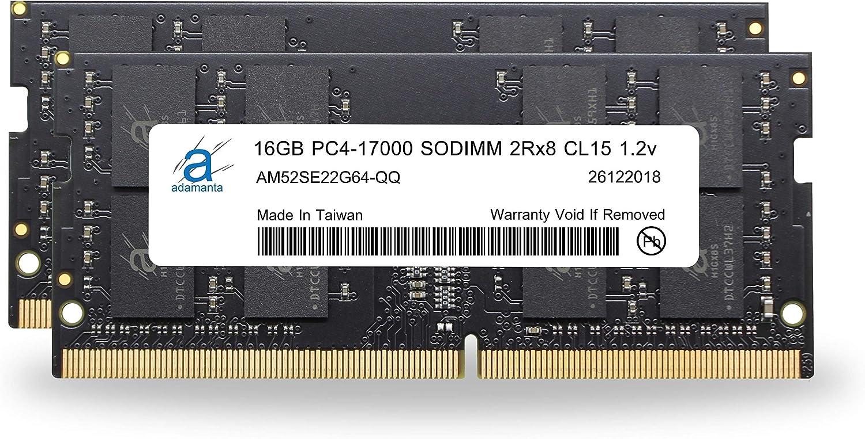 Adamanta 32GB Rapid rise 2x16GB Laptop Popular Memory Sams Compatible for Upgrade