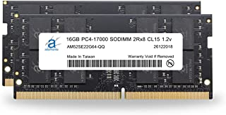 Precision /& XPS DDR4 2666Mhz PC4-21300 SODIMM 2Rx8 CL19 1.2v Notebook RAM DRAM P//N: SNPNNRD4C//32G Adamanta 32GB 1x32GB Laptop Memory Upgrade Compatible for Dell Optiplex