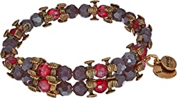 Alex and Ani - Splendor Wrap Aubergine Bracelet