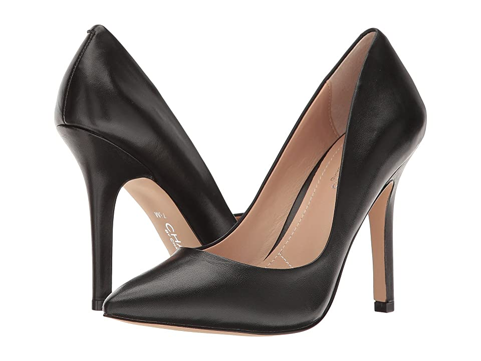 Charles by Charles David Maxx (Black Leather) High Heels