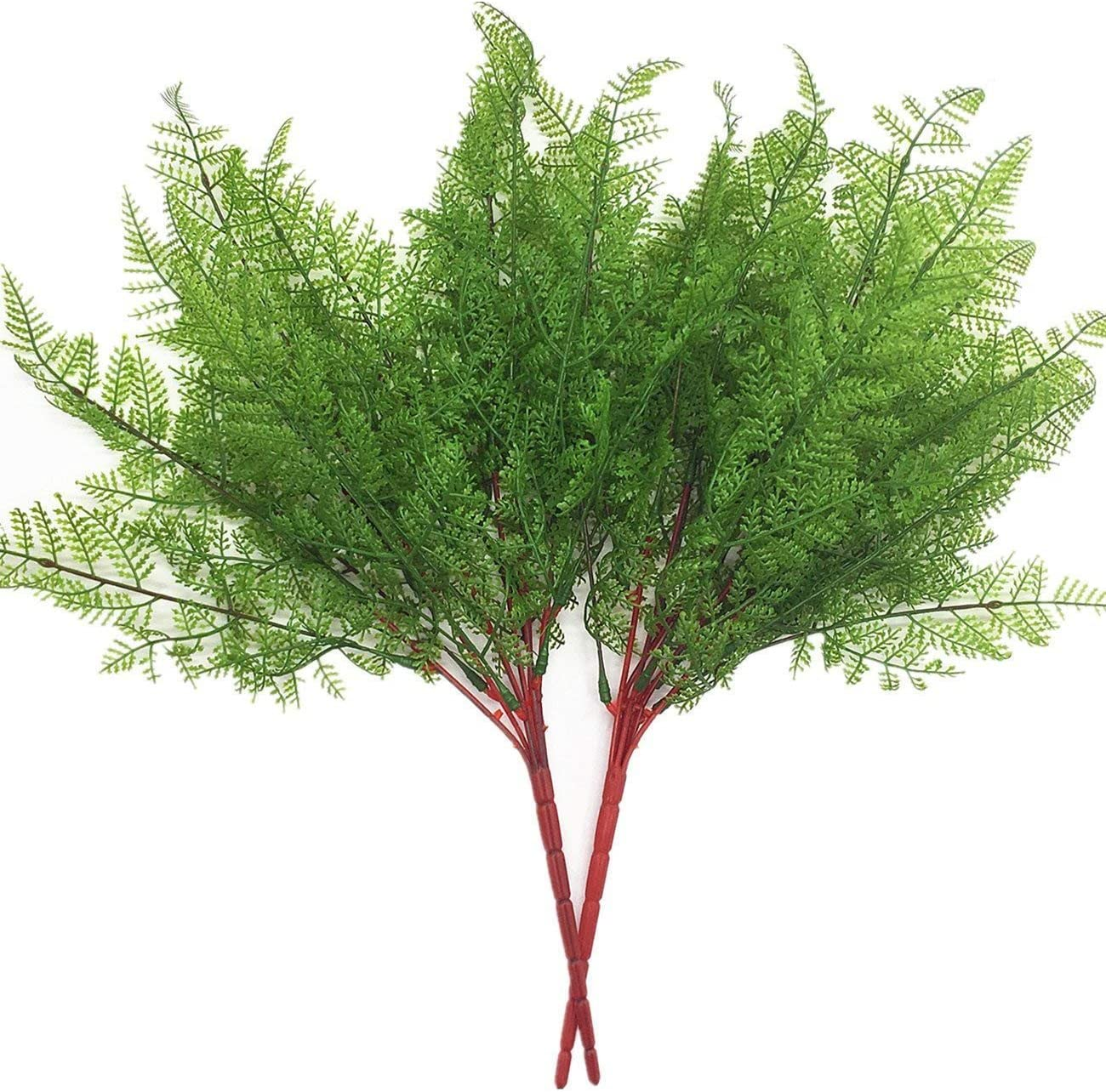 2021 model CATTREE Artificial NEW before selling ☆ Shrubs Bushes Plastic Persian Leaves Fern Gr