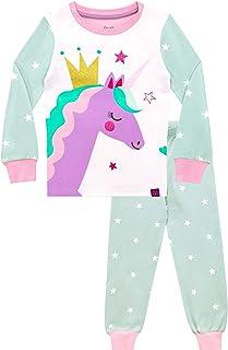 Harry Bear Pijamas para niñas Unicornio Ajuste Ceñido