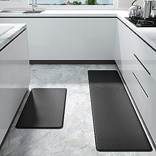 Color&Geometry Küchenteppich, rutschfest, wasserdicht, gepolstert, gegen Müdigkeit,..