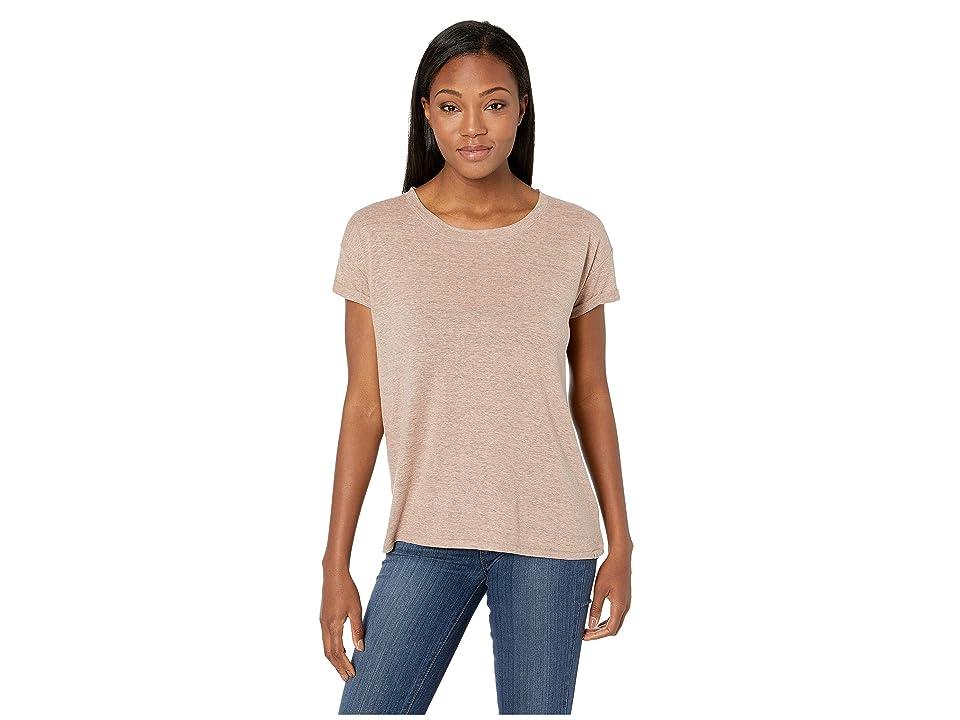 Prana Cozy Up T-Shirt (Peach Heather) Women
