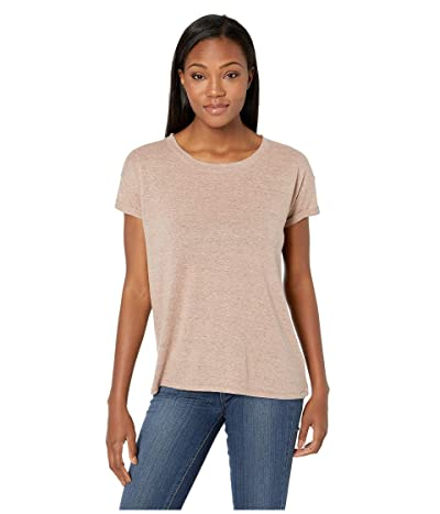 Prana Cozy Up T-Shirt (Peach Heather) Women