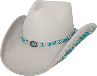 7b6518f1d8821 Bullhide Women s Grey Natural Beauty Wool Cowgirl Hat Silverbelly Medium