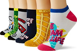 Stranger Things Adult Socks 6pc Pack Low Cut Assorted Designs Size 4-10