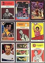 Ultmate Basketball Rookie Reprint (9) Card Lot #2 * Wilt Chamberlian, Michael Jordan, LeBron James, Kobe Bryant, Oscar Robertson, Julius Erving, Stephen Curry, Larry Bird, Magic Johnson, Jerry West