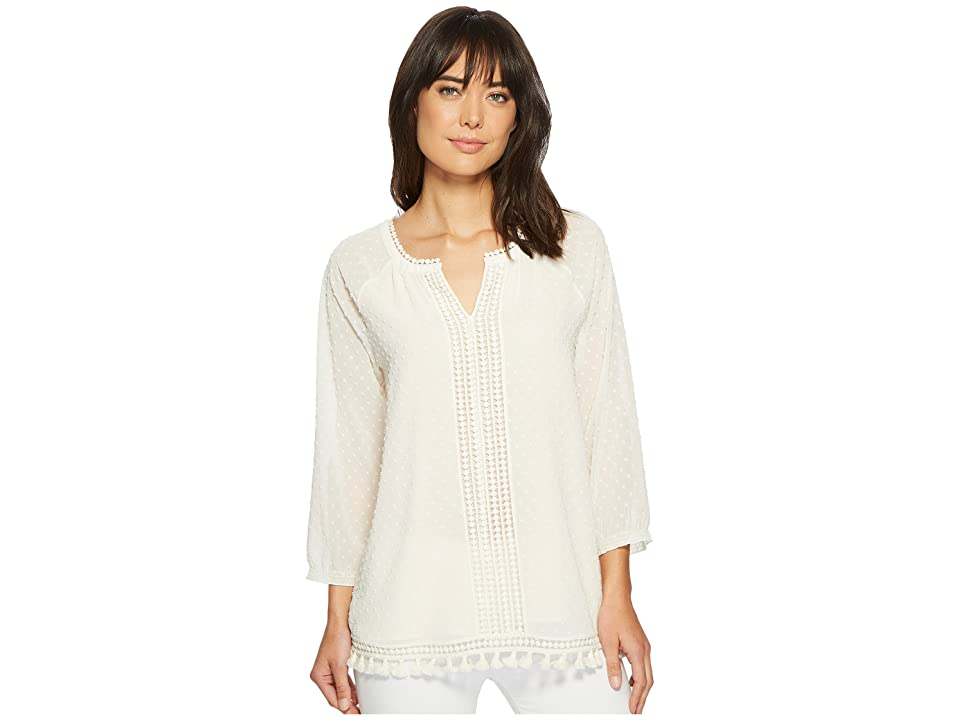 NIC+ZOE Souk Top (Bone) Women