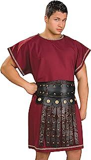 amscan- Disfraz de túnica para Adultos, 1 Unidad, Color Granate, Men: 50 Inch (841781)