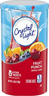 Sponsored Ad - Crystal Light Fruit Punch Drink Mix (48 Pitcher Packets, 12 Packs of 4)