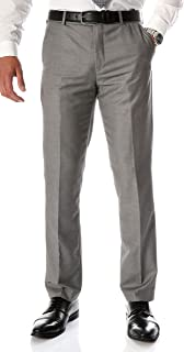 Ferrecci Men's Halo Slim Fit Flat-Front Dress Pants