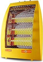 LTLJX Radiador Halógeno Tres Barras Estufa de Cuarzo Termoventiladoresde Calentador Regulable 3 Velocidades Calor Protección Antivuelco para Cuarto/Baño/Oficina