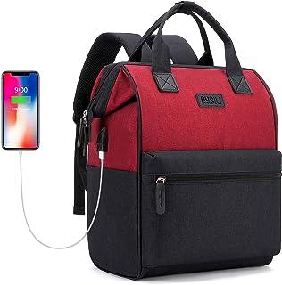 Mochila Portatil 15.6 Pulgadas Mochila Hombre con Puerto de Carga USB,Mochila Antirrobo Impermeable,Mochila Backpack para el Laptop para Ordenador del Negocio Trabajo Diario Viaje