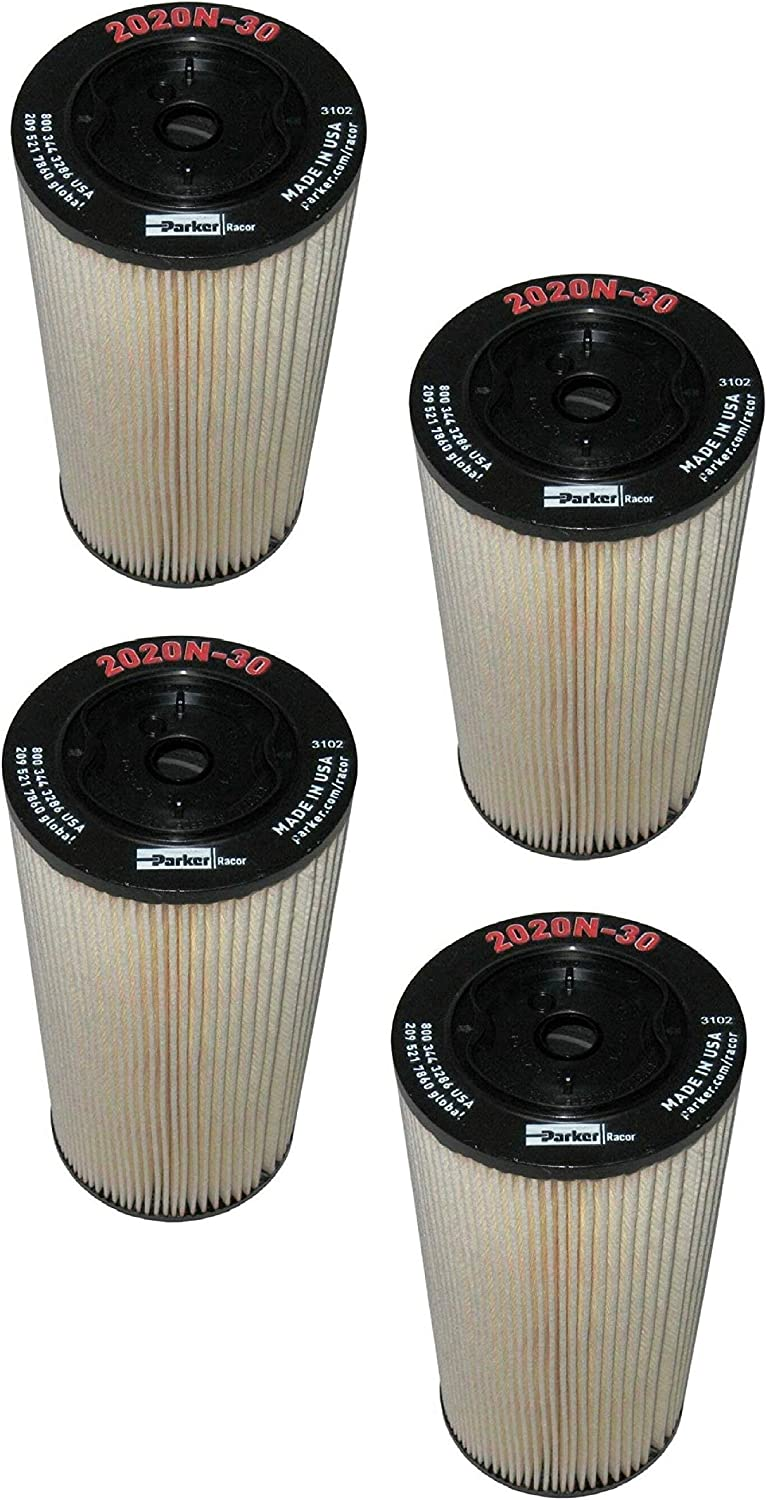 2020N-30 Racor Fuel Filter Element Microns ☆新作入荷☆新品 30 ●日本正規品● 4 Pack of