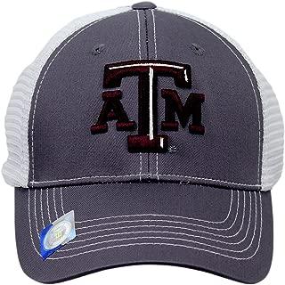 Captivating Headgear Collegiate Headwear Men's Texas A&M Aggies Embroidered Snap Back Cap