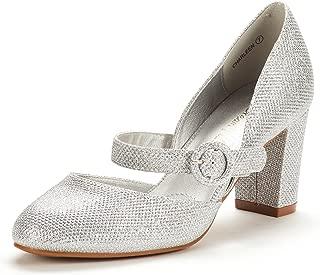 DREAM PAIRS Women's Charleen Classic Fashion Closed Toe High Heel Dress Pumps Shoes