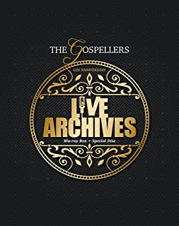 """THE GOSPELLERS G20 ANNIVERSARY """"LIVE ARCHIVES"""