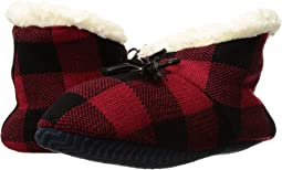 Sperry - Buffalo Plaid Sherpa Slipper Sock