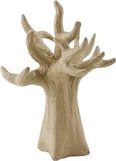 décopatch Mache Tree, 14 x 5.5 x 20.5 cm, Brown