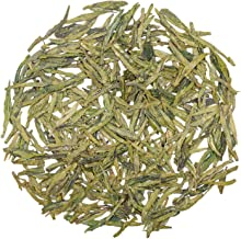 Oriarm 500g / 17.64oz Xihu Longjing Té Verde Chino Loose Leaf - Long Jing Dragon Well Tea Leaves - Dragonwell Tea Yuqian 1st Grade - Brew Hot or Iced Tea