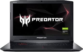 Acer Predator Helios 300 PH317-52-77A4 Gaming Laptop, Intel Core i7-8750H, GeForce GTX 1060 Overclockable Graphics, 17.3