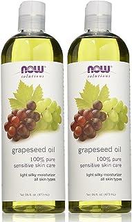 Now Foods Grape Seed Oil, 32 oz (16oz X2)