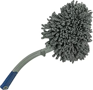 S&T INC. 939301 Dusting Wand for Auto and Home Interior, Includes Collapsible Handle..
