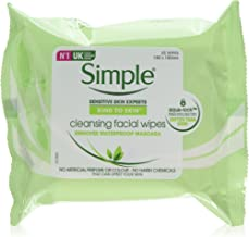 Simple Kind to Skin Cleansing Facial Wipes make up remover