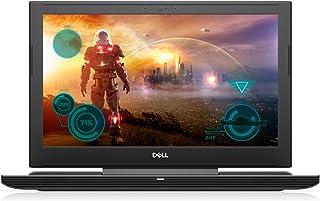 """Dell 第七世代インテルCore i5の、GTX 1060枚の6ギガバイトグラフィックス、8ギガバイトのメモリ、128ギガバイトSSD + 1TB HDD、15.6"""" 、マットブラック - i7577-5241BLK-PUSのInspiron..."""