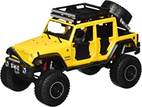 MAISTO 1:24 W/B - OFF-ROAD KINGS - 2015 JEEP WRANGLER UNLIMITED 32523YL