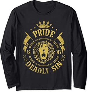 Seven Deadly Sins Anime Manga/ Pride Sin Of Lion Long Sleeve T-Shirt