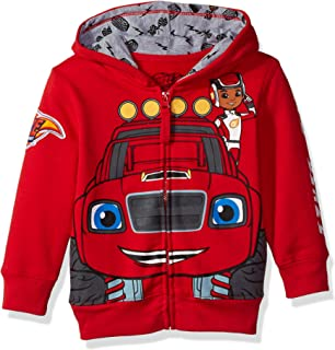 Boys' Toddler Monster Machines Lets Blaze Hoodie