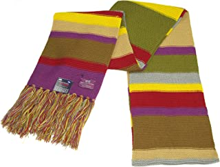 Doctor Who Scarf - Official BBC Doctor Who Scarf - Fourth Doctor Scarf Full Size by Lovarzi