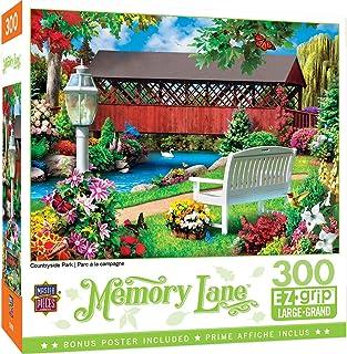MasterPieces Memory Lane Puzzles Collection - Country Park 300 Piece EZ Grip Jigsaw Puzzle
