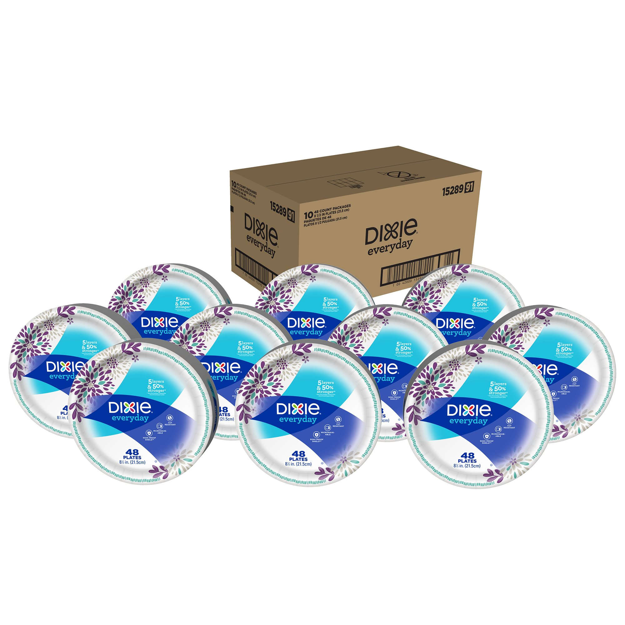 225 & Bulk Disposable Plates: Amazon.com