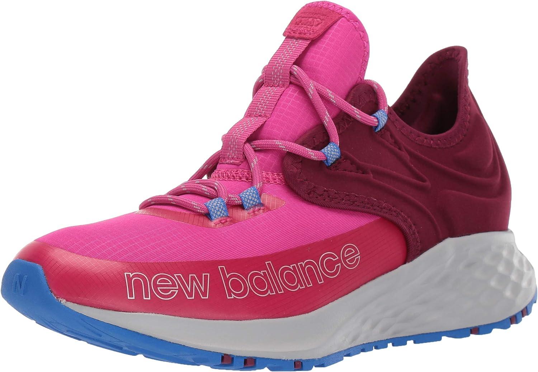 New Balance Kids' Fresh Foam Trail Roav V1 Lace-up Running Shoe