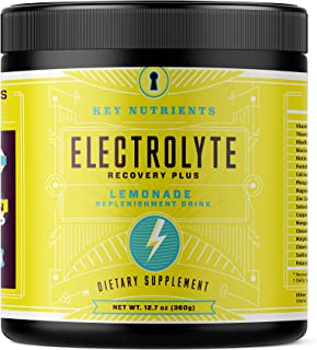 Electrolyte Powder, Lemonade Hydration Supplement: 90 Servings, Carb, Calorie & Sugar Free, Delicious Keto Replenishment D...