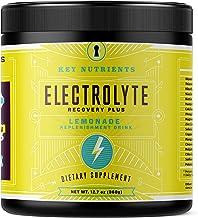Electrolyte Powder, Lemonade Hydration Supplement: 90 Servings, Carb, Calorie & Sugar..