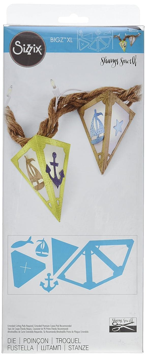 Sizzix Bigz Die, Lantern with Nautical Embellishments by Sharyn Sowell