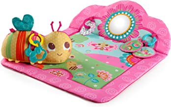 Bright Starts Flowers and Friends Prop Mat, Pink