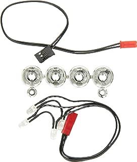 Traxxas 6784 LED Chrome Light bar and Four Clear Lights