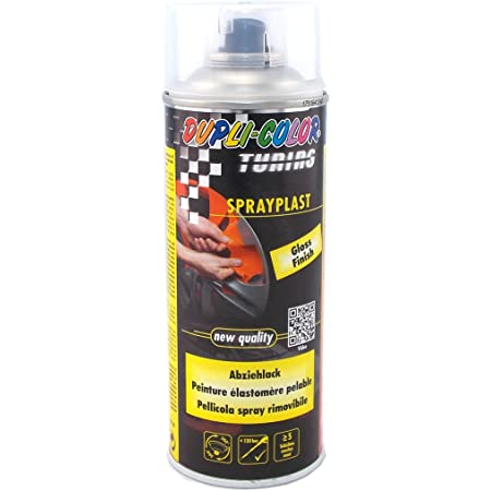Dupli Color 433320 Sprayplast Gloss Finish Transparent Auto