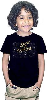 FMstyles - Back to School Kids unisex Black Tshirt