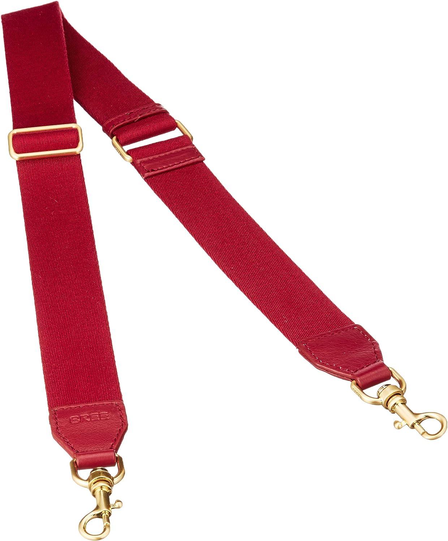 BREE Collection Ci 901, Brick Red li. Br. gold, Str. 4cm, Women's Bag Organiser, Red, 0.01x4x136 cm (B x H T)