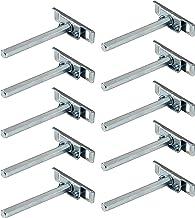 Gedotec Clever Plankdrager voor plankdrager, hout, verzinkt staal, SW 10 x 100 mm, verborgen plankdragers voor wandmontage...
