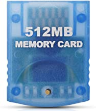 Gamecube Memory Card, VOYEE 512M Memory Card for Nintendo Gamecube & Wii Console - Blue